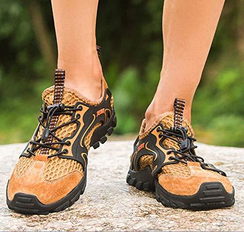 SHANGWU Männer Leichte Outdoor-Schuhe Herren Trekking Größe Sandalen Wassersport Schuhe Große Größe Trekking Skid Upstream Schuhe Männer Outdoor Waten Wanderschuhe Wanderschuhe a727d0