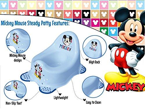 Disney Baby Micky Maus T/öpfchen mit rutschfesten F/ü/ßen