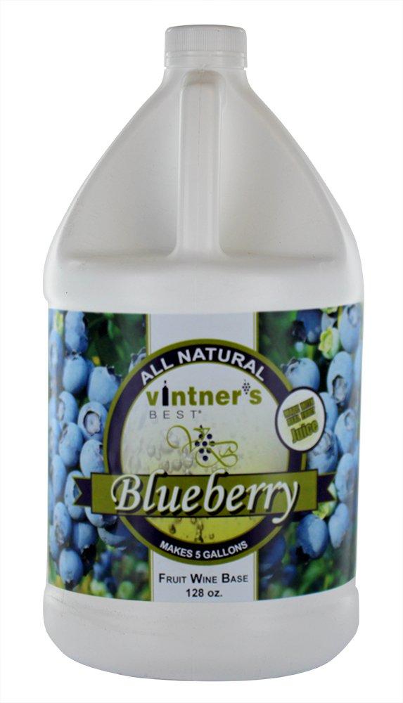 Vintner's Best 3906 Home Brew Ohio Vintners Best Fruit Wine Base, Blueberry, 128 oz.