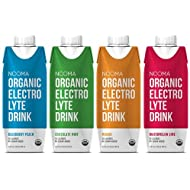 NOOMA Organic Electrolyte Drink, Variety Pack, 16.89 Fluid Ounce (Pack of 12)