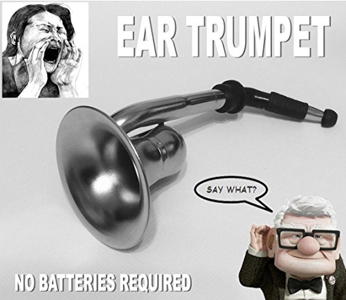 Great Gag Gift (Ear Trumpet Horn For The Hard Of Hearing Crowd.Great party gag gift!)