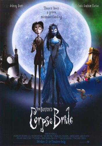 Tim Burton's Corpse Bride Poster Movie N 11x17 Johnny Depp Helena Bonham Carter Emily Watson (The Corpse Bride Emily)
