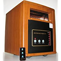 NEW INFRARED PORTABLE ELECTRIC SPACE HEATER PTC 1500W