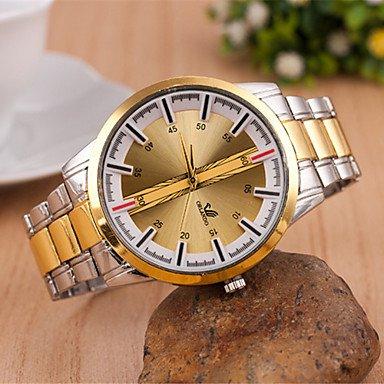 Bella, relojes de hombre/de mujer y Unisex Reloj Alla Moda cuarzo aleación banda oro Marca-, dorado: Amazon.es: Deportes y aire libre