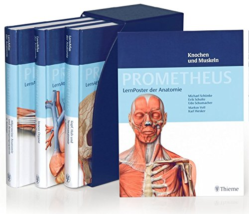 PROMETHEUS LernPaket Anatomie: LernAtlas Anatomie: Amazon.de ...