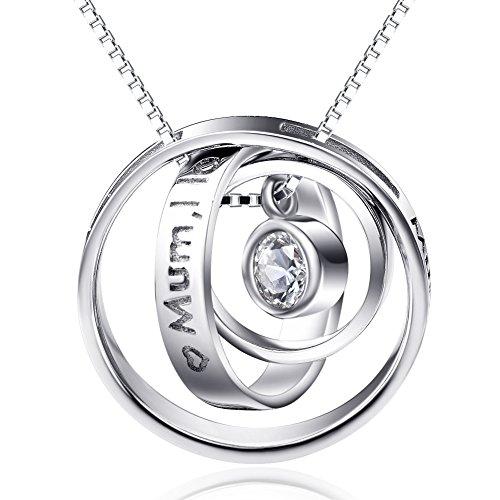 YFN Sterling Engraved Zirconia Infinity