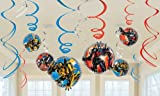 Transformers 3 - Swirl Decorations Party Accessory by Amscan