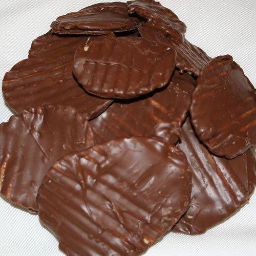 Chocolate Covered Potato Chips (No-Melt Guarantee) (Milk ...