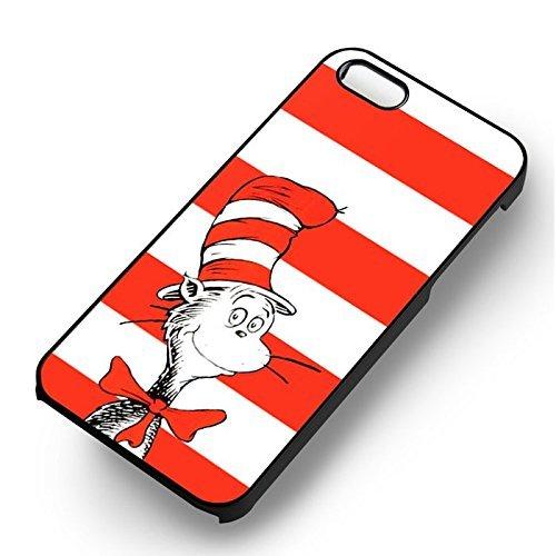 Red Hat Cartoon pour Coque Iphone 6 et Coque Iphone 6s Case (Noir Boîtier en plastique dur) I6L1BR