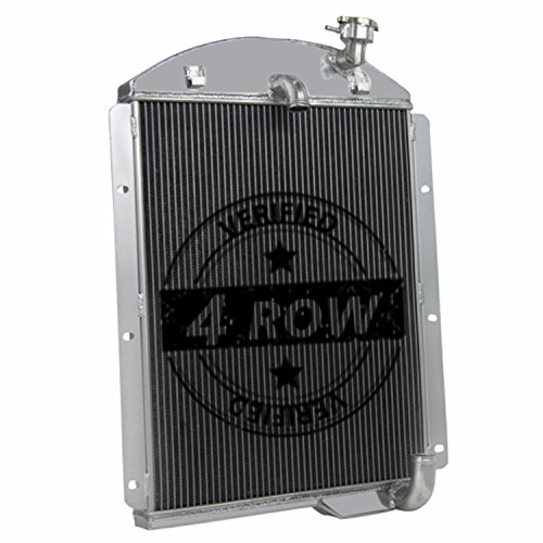 Primecooling 4 Row All Aluminum Radiator for Chevy GMC Truck Pickup ,AK 1941-46