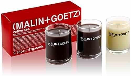 Malin + Goetz Votive Candle Set, 3 Count