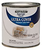 Rust-Oleum 1993730 Painters Touch Latex, Half Pint,  Semi-Gloss White