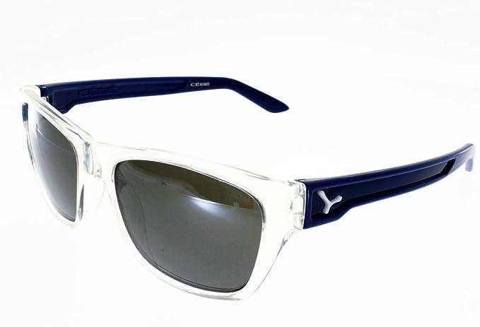 CEBE HACKER - Gafas de sol de cristal azul mixto, grado 3 ...
