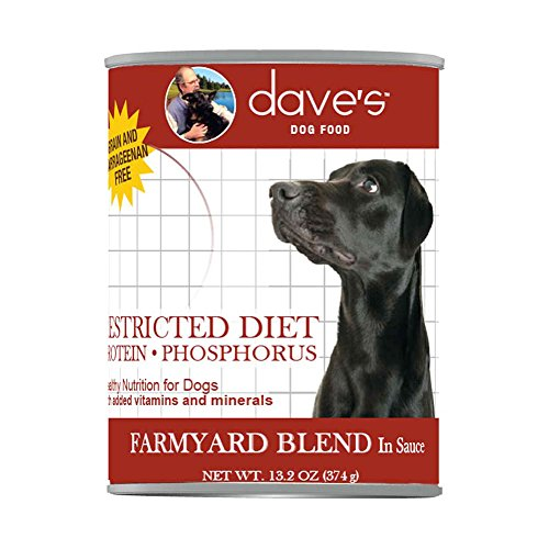 Dave'S Pet Food Protein- And Phosphorus-Restricted Chicken Food (12 Cans Per Case), 13.2 Ounces (Daves Pet Food Restricted Diet Protein And Phosphorus)