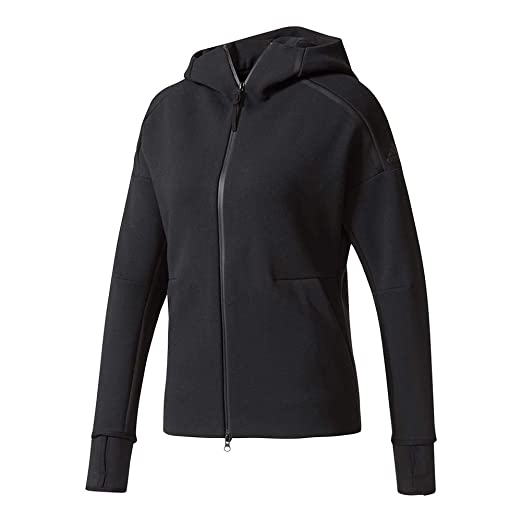 8ef81b089ae38 Amazon.com: adidas-Women`s Zero Negative Energy Tennis Hoodie Black ...