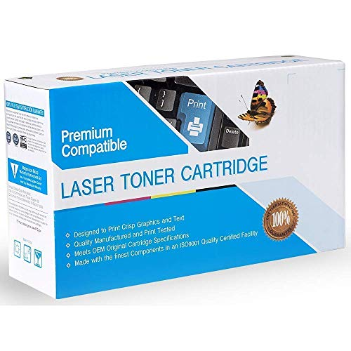 Dallas Laser Printers Compatible Toner Replacement for Oki-Okidata 43034803, Works with: C3100, C3100N, C3200, C3200N (Cyan) 43034803 Cyan Laser Toner
