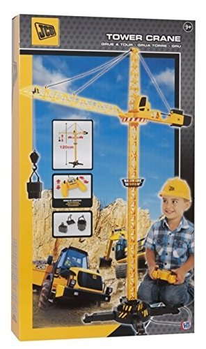 Amazon Com Jcb Crane With Remote Control By Jcb Toys Games