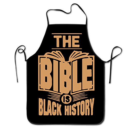 The Bible Is Black History Chef Kitchen Cooking And Baking Bib Apron