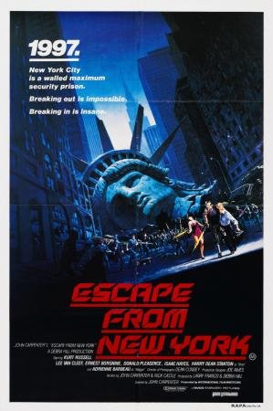 Escape From New York Movie Poster 24x36