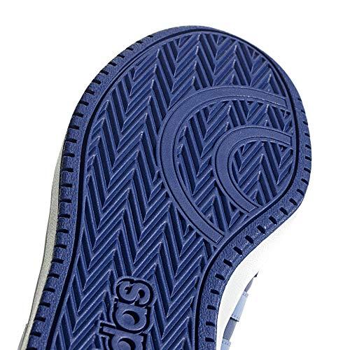 realil Basketball Mysink 2 De cleora mysink Hoops Bleu realil 0 Mixte Adidas cleora Chaussures Mid Enfant wqfpnOYx6C