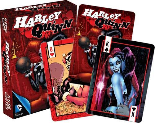 Aquarius Jeu de Cartes DC Comics Harley Quinn boîte Rouge 52368