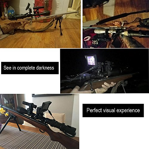 Review bestsight DIY Rifle Night Vision Scope with CCD and Flashlight for Riflescope Outdoor Night Hunting Optics(UPGRADE)