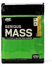 OPTIMUM NUTRITION Serious Mass Weight Gainer Protein Powder, Banana, 5.44 kg