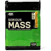 Optimum Nutrition Serious Mass Banana Protein Powder Gainer, 5.44 Kilograms