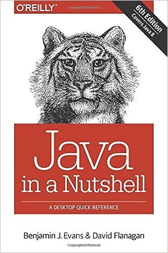 Java in a Nutshell ISBN-13 9781449370824