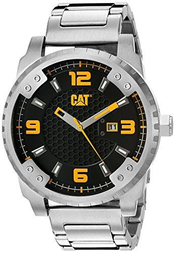CAT WATCHES Men's 'Grid' Quartz Stainless Steel Watch, Co...