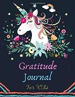 Gratitude Journal For Kids: Girl Unicorn 90 Days