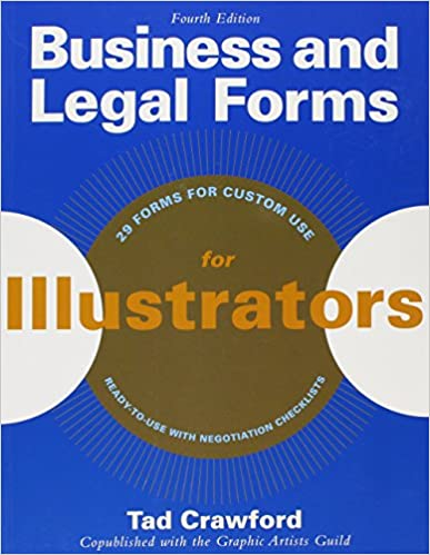 Book Business and Legal Forms for Illustrators