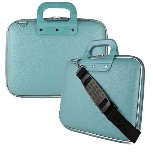 Cady Executive Leather Carrying Shoulder Bag Case For MacBook Pro 13.3