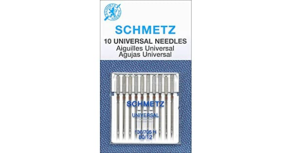 Amazon.com: Schmetz Aguja universal Tamaño 80/12 10pc: Home ...