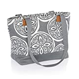 Thirty One Demi Day Bag in Woodblock Whimsy - No Monogram - 8661