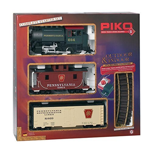 PENNSYLVANIA STARTER SET - PIKO G SCALE MODEL TRAIN SET 38103