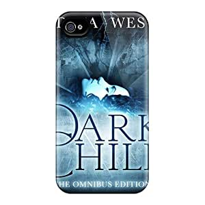 Shock-Absorbing Hard Cell-phone Cases For Iphone 4/4s With Customized HD Strange Magic Pictures KellyLast