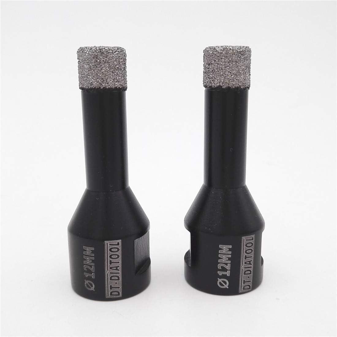 DT-DIATOOL Foret Diamant 6mm Scie Cloche pour Forage /à Sec Carrelage Porcelaine Marbre C/éramique Granit