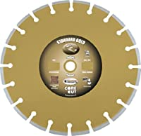 Diamond Products Core Cut Diamond Product 36413 Standard Gold Segmented Masonry Diamond Blade 14 X .125 X 1