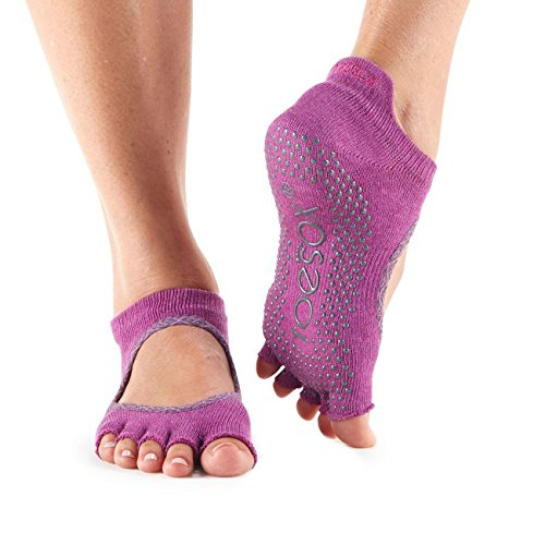 slip Ballet Calze Socks Half Barre Pilates Bellarina Grip For Yoga Toesox non Donna Batik Toe amp; Mulberry 0q7Xx