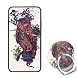 Regrowth iPhone 6S Case/iPhone 6 Case Rubber Shockproof Cover Ring Bracket Compatible