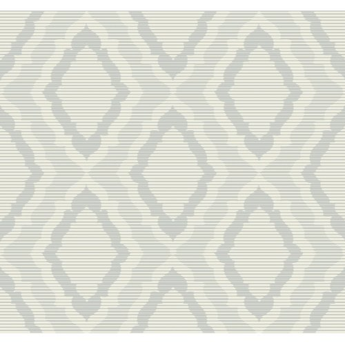 Candice Olson Decadence Amulet Wallpaper Grey