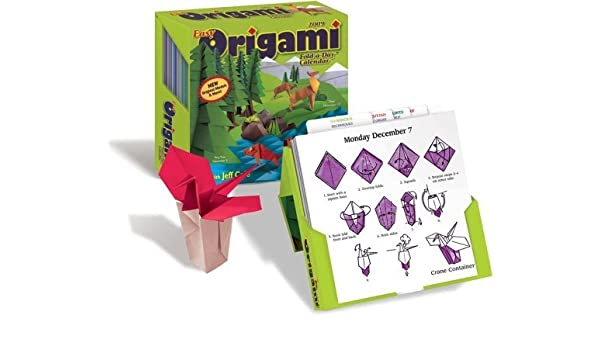 Easy Origami Fold-a-Day TM : 2009 Day-to-Day Calendar by ...
