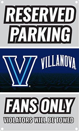 (NCAA Parking For Fans Only Metal Sign (Villanova Wildcats))