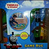 Thomas & Friends Railroad Game Rug 2 Trains