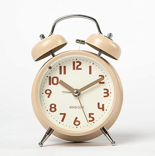 XXPF Reloj Despertador Creativo Simple Estudiante Reloj de Noche ...