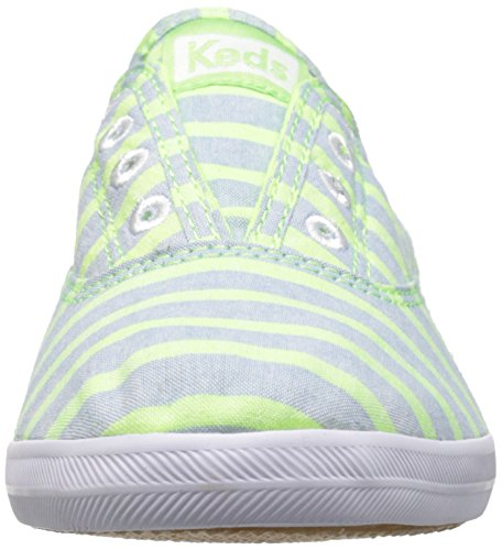 On Neon Chillax Laceless Sneaker Washed Keds Women's Green Slip xpqCRX6a0w