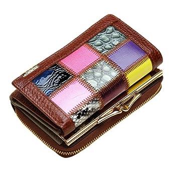 Da Wu Jia señoras bolso de cuero auténtico 3 veces Moda ...