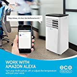 Alexa-Enabled RolliCool COOL208 Portable Air Conditioner 10000 BTU with Heater, Dehumidifier, and Fan with Mobile App