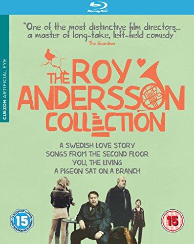 Roy Andersson Collection - 4-Disc Box Set ( En kärlekshistoria / Sånger från andra våningen / Du levande / En duva satt på en gren och funder [ NON-USA FORMAT, Blu-Ray, Reg.B Import - United Kingdom ] by Artificial Eye